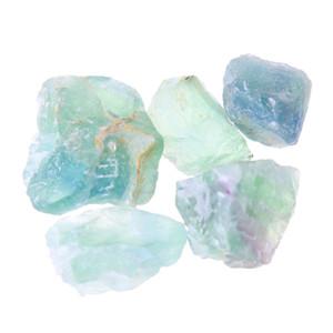 100g Natural Rare Fluorita Piedra de Cristal Original Espécimen de fluorita Curación Brillante Brillante arcoiris piedra Mineral Espécimen Decoración