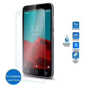Protector de cristal templado de la pantalla para Vodafone inteligente C9 9H iPhone Cine 2.5D XS XS XR Max Samsung J7 primer