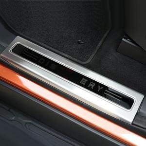 Kapı eşik eşik gezi karşılama pedalı dekoratif sticker kapak rover discovery 5 LR5 İç Aksesuarları için kapak trim