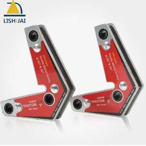 LISHUAI Dual-Use Magnetic Holder Corner Welding Magnets Two Pcs Pack WM3-6090S