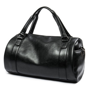 Men Briefcase Large Capacity Business Bag Male Black Handbag Fashion Shoulder Messenger Bags Simple Laptop Bag  Travel