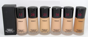 Factory Direct Makeup Mineralize Moisture 6 color Foundation Liquid 30ML DHL free shipping