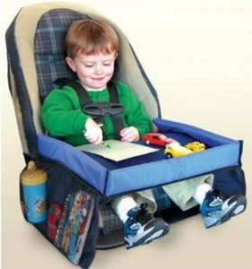 5 Renk Bebek Tulumları Araba Emniyet Kemeri Seyahat Oyun Tepsi su geçirmez katlanır masa Bebek Araba Koltuğu Kapağı Demeti Buggy Puset A ...