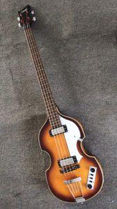 Оптовая новый 4 строка бас-гитара CT современный 500/1 Sunburst Скрипка бас-гитара высокое качество