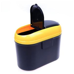 Ящик для хранения автомобилей, мусорные баки с двойным открытием, мусор, отходы, подвеска, креатив, оформление интерьера автомобиля с модификациями автомобилей