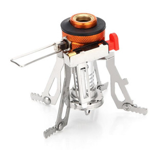 Ultra-light Alloy Camping Equipment Stove Gas Burners Outdoor Cooker Outdoor Stove Mini Gas Stoves Miniature Portable Picnic