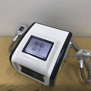 Protable serin mini artı 4 kolları ile ev kullanımı için donma cryolipolysis yağ dondurma vücut zayıflama makinesi