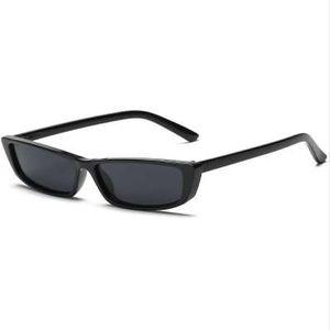 Vintage Cat Eye Sunglasses Mujeres Fashion Small Frame Sun Glasses Ladies Retro Personality Gafas de sol UV400