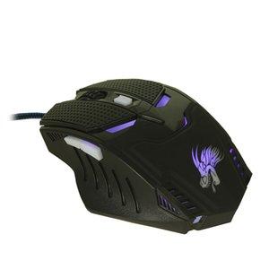 6dusb кабель esport игровая мышь 5000DPI LED оптический портативный прохладный ПК компьютер ноутбук офис универсальный подарок