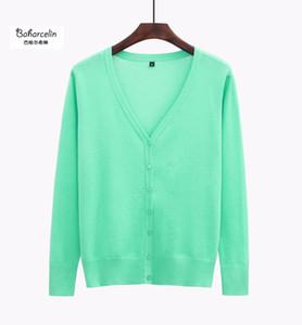 Baharcelin alta qualidade Big Size 5XL Cardigans mulheres ocasional doce Crochet Malha blusa de manga Camisolas Cardigan