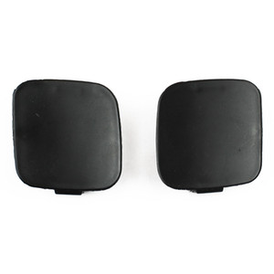 Car Auto Stying Pair Left Right Front Bumper Tow Hook Eye Cover Cap for Toyota Corolla 2010-2012
