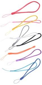 Curto Colorfull Mão Pulso Corda Leve Cordão Corda para Unidades Flash USB, Chaves, e outros Itens Portáteis atacado 2000 pçs / lote