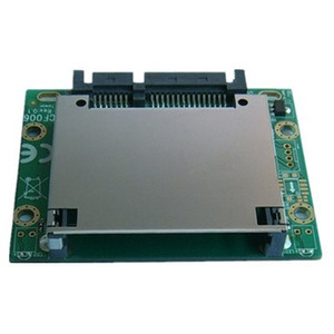 SATA to CFast Slot Interface Exchange Card , Support CFast Type I II , 7+17 pin CFast connector
