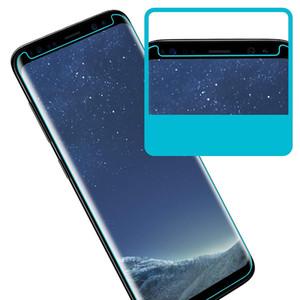 لاجهزة جالكسي S8 Glass GPROVA واقي الشاشة [No Bubbles] [Anti-Glare] [Anti Fingerprint] ثلاثي الأبعاد منحني مقسّى لـ Samsung S9