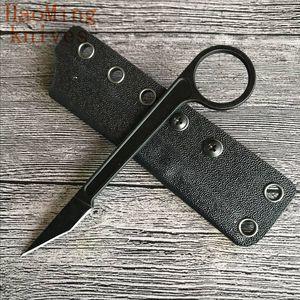 Новые Ножи Бастинелли Тактический карманный охотничий нож Карамбитовый коготь Фиксированное лезвие Мини-ожерелье Открытый лагерь Гаджет Выживание EDC Tool gi