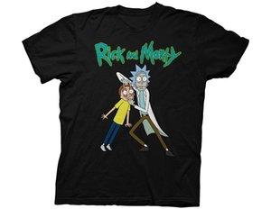 Dalgalanma Kavşağı Rick Morty Gözler Açık Yetişkin T Shirt