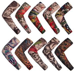 Tattoo Ärmel Männer und Frauen Nylon Temporary Tatto-Arm-Strumpf Ärmelschoner Fake Tattoo Sleeves DHL-freies Verschiffen