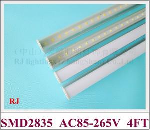 integrated compact LED tube light lamp T5 LED fluorescent tube 1200mm 4FT 20W AC85V-265V input aluminum SMD2835
