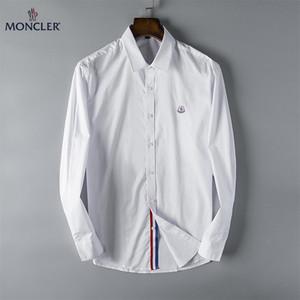 2018 high-end yeni uzun kollu yaka erkek gömlek M-3XL0138