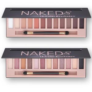 Hot Fashion Branded Make-up Wasserdicht 12 Farben Glitter Shimmer Make Up Farben Nude Pigmente Professionelle Lidschatten-Palette