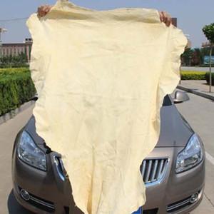 كبيرة الحجم الشامواه الطبيعي الإسفنج القماش جلد طبيعي تجفيف تنظيف المناشف الخرفان ماصة منشفة غسيل السيارات
