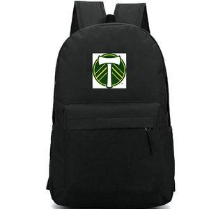Portland Timbers backpack Providence Park daypack Football club schoolbag Soccer team rucksack Sport school bag Outdoor day pack