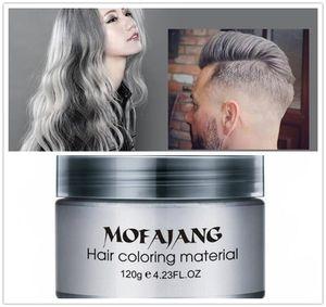 Mofajang saç balmumu için saç şekillendirici Mofajang Pomat Güçlü tarzı geri Pomade balmumu büyük İskelet slicked X103