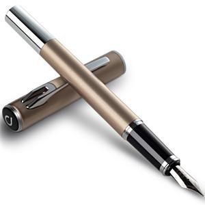 Penna stilografica in metallo Penna a inchiostro 0.6mm S675F Serie METHEUS Scrittura uniforme Studenti Bambini Cancelleria Forniture per ufficio 4 Colori