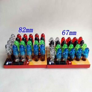 ارتفاع رصاصة مربع موزع sniffer snuff snuff الاكريليك زجاج عرض الصواريخ موزع snuffer 67 ملليمتر / 82 ملليمتر مريح زجاجة السعوط صويف b kdff