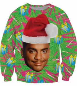 New Fashion Men Women Christmas Will Smith Funny 3D Printed Sweatshirt Summe Style Fashion Casual Sweatshirt S-XXXXXXXL B02