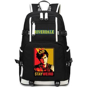 Riverdale backpack Archie Andrews day pack Teleplay school bag Leisure packsack Quality rucksack Sport schoolbag Outdoor daypack