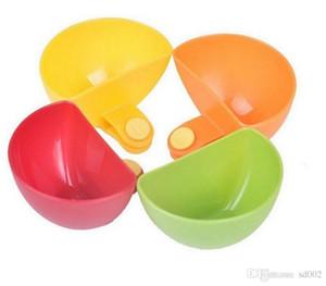 Мини чаша комплект приправа блюдо пластиковые Dip клипы кухня статьи Безопасный нетоксичный небольшой салат соус чаши конфеты цвета 0 88tt ii