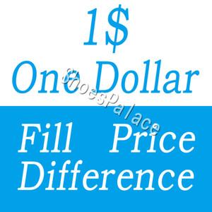 Ein Dollar Füllpreis Unterschied Zahlung für DHL EMS verschiedene zusätzliche Kosten verschiedene Versandkosten etc