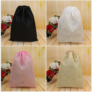 Non Woven Storage Dust Bag For Clothes Shoes Packaging For Handbag Travel Sundries Storage Pull Rope Organization Bags DHL SHIP HH7-1222