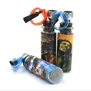 새로운 휴대용 유리 파이프 스티커 물 필터 파이프