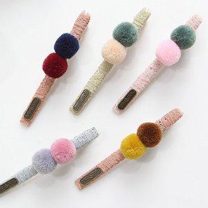 Multicolor Hairclip Nette Feste Haar Ball Haarnadeln Handmade Schöne Haarspange Für Kinder Mädchen Haarschmuck