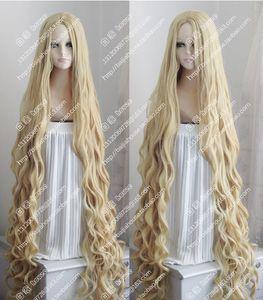 150 cm longo ondulado peruca encaracolado occidente estilo pastoral misturar loira cosplay peruca cabelo frete grátis nova alta qualidade moda imagem wig