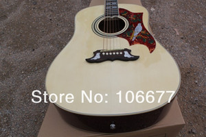DOVE 41 polegadas Spruce Top Rosewood Side Voltar Hummingbird HS GARANTIDO Natureza Cor De Madeira Guitarra Acústica Frete Grátis