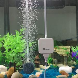 Compresseur d'air silencieux de pompe à air de pompe à air d'inflation de réservoir de poisson 1.8W mini pour l'aquarium avec la pierre et le tube d'air