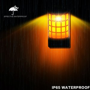 Dhl مجاني للماء بالطاقة الشمسية أدى الجدار ضوء ل outdoor المشهد حديقة فناء الحديقة سياج سطح السقف إضاءة الديكور