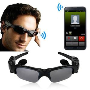 Gafas de sol gafas de sol de Bluetooth estéreo inalámbrico de auriculares manos libres Auriculares Deportes reproductor de música MP3 con el paquete al por menor