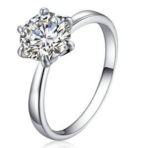 Новый дизайн женщины регулируемый размер австрийский хрусталь обручальные кольца цирконий алмаз сапфир драгоценный камень кольца