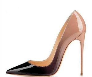 bona fide Бренд 8cm 10cm 12cm Женщины Высокие каблуки ботинки Женщины Обнаженная обувь Кожа PU Сексуальные насосы Женская обувь Высокие каблуки Свадебные насосы