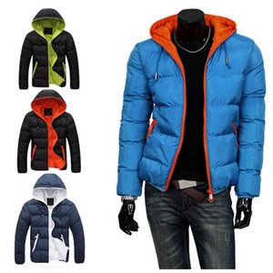1Pcs Hot Slim 2019 Casual Cotton Cotton Clothing Tops Warm Mens New Hooded Fashion