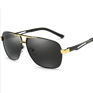 UV400 Vintage Klassische Mode Polarisierte Sonnenbrille Platz Brillen Fahren angeln sonnenbrille für Männer 8521