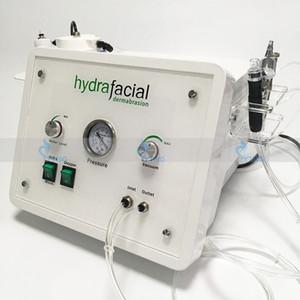 3in1 taşınabilir Elmas Mikrodermabrazyon güzellik makinesi oksijen cilt bakımı Su Aqua Dermabrazyon Soyma hydrafacial SPA ekipmanları