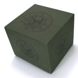 Fournisseur usine de haute qualité Montres Boîtes verte Montre en bois Boîtes Boîtes de montres d'affichage Coffret pour AP avec carte