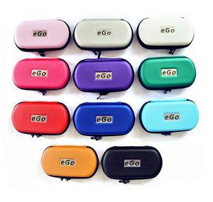 New Ego Zipper Custodia in metallo per sigaretta elettronica con cerniera in metallo E casi Cig per Ego Evod CE4 CE5 MT3 Protank Ego Starter Kit