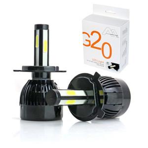 2X H4 H7 H11 H8 9006 HB4 4 Seiten LED COB Auto Auto Scheinwerfer 40W 8000LM High Abblendlicht Canbus 12V weiß Automobile Lampe