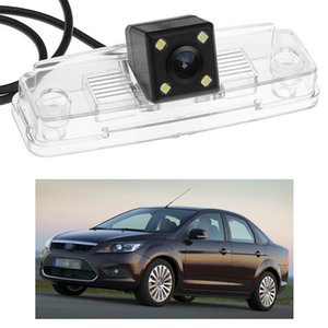 New 4 LED Car Rear View Camera Reverse Backup CCD fit for Ford Focus Sedan 2009 MK2